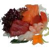 550. Sashimi mix groot