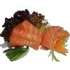 Sake sashimi [548]